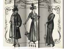 Paraván - Dress 1914 II [Room Dividers]